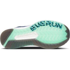 saucony Liberty ISO Shoes Women Violet/Aqua
